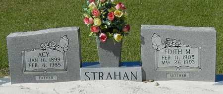 STRAHAN, EDITH M - Washington County, Louisiana | EDITH M STRAHAN - Louisiana Gravestone Photos