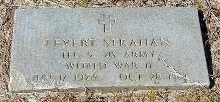 STRAHAN, LEVERT (VETERAN WWII) - Washington County, Louisiana | LEVERT (VETERAN WWII) STRAHAN - Louisiana Gravestone Photos