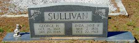 SULLIVAN, INDA JANE - Washington County, Louisiana | INDA JANE SULLIVAN - Louisiana Gravestone Photos