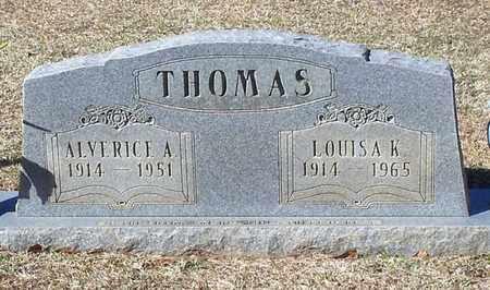 KNIGHT THOMAS, LOUISA - Washington County, Louisiana   LOUISA KNIGHT THOMAS - Louisiana Gravestone Photos