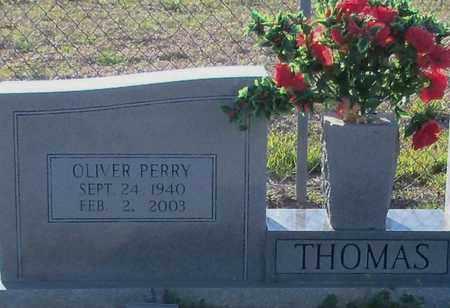 THOMAS (CLOSE UP), OLIVER PERRY - Washington County, Louisiana | OLIVER PERRY THOMAS (CLOSE UP) - Louisiana Gravestone Photos