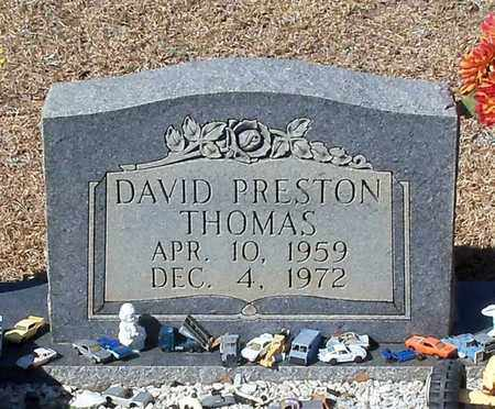 THOMAS, DAVID PRESTON - Washington County, Louisiana | DAVID PRESTON THOMAS - Louisiana Gravestone Photos