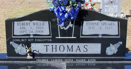 THOMAS, ELBERT WILLIE - Washington County, Louisiana | ELBERT WILLIE THOMAS - Louisiana Gravestone Photos