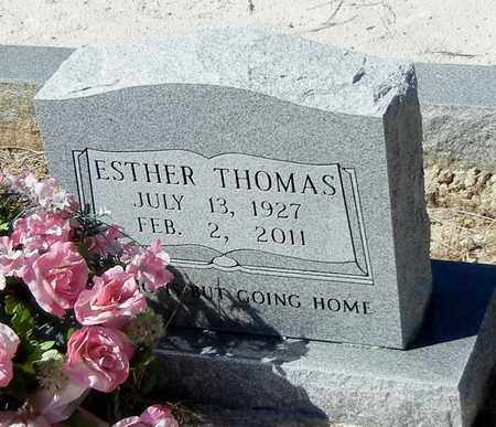 THOMAS, ESTHER - Washington County, Louisiana | ESTHER THOMAS - Louisiana Gravestone Photos