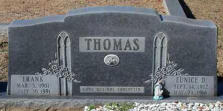 THOMAS, EUNICE - Washington County, Louisiana | EUNICE THOMAS - Louisiana Gravestone Photos