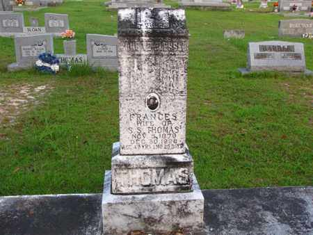 PHILLIPS THOMAS, FRANCES - Washington County, Louisiana | FRANCES PHILLIPS THOMAS - Louisiana Gravestone Photos