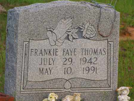 THOMAS, FRANKIE FAYE - Washington County, Louisiana | FRANKIE FAYE THOMAS - Louisiana Gravestone Photos
