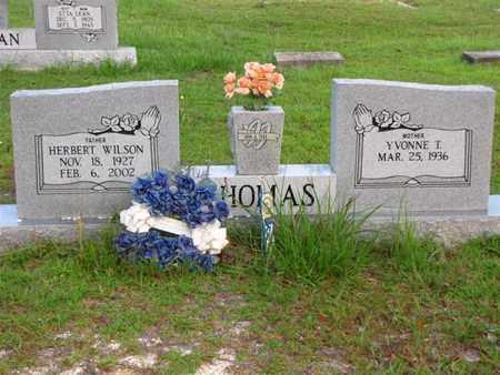 THOMAS, HERBERT WILSON - Washington County, Louisiana | HERBERT WILSON THOMAS - Louisiana Gravestone Photos