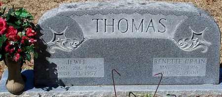 CRAIN THOMAS, RENETTE - Washington County, Louisiana   RENETTE CRAIN THOMAS - Louisiana Gravestone Photos