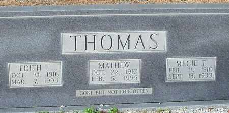 "THOMAS, MATHEW ""MATHIE"" - Washington County, Louisiana 