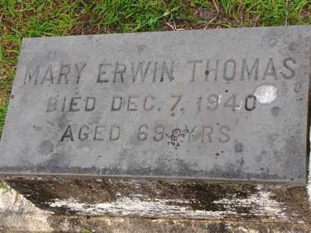 THOMAS, MARY ERWIN - Washington County, Louisiana | MARY ERWIN THOMAS - Louisiana Gravestone Photos