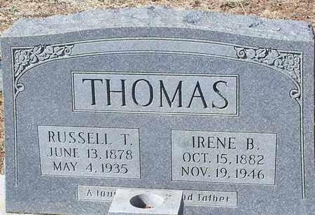 THOMAS, RUSSELL T - Washington County, Louisiana | RUSSELL T THOMAS - Louisiana Gravestone Photos