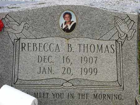 THOMAS, REBECCA B - Washington County, Louisiana | REBECCA B THOMAS - Louisiana Gravestone Photos
