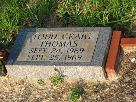 THOMAS, TODD CRAIG - Washington County, Louisiana | TODD CRAIG THOMAS - Louisiana Gravestone Photos