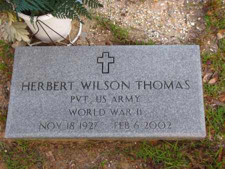 THOMAS, HERBERT WILSON (VETERAN WWII) - Washington County, Louisiana | HERBERT WILSON (VETERAN WWII) THOMAS - Louisiana Gravestone Photos