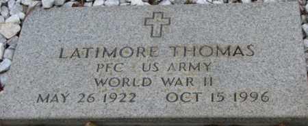 THOMAS, LATIMORE (VETERAN WWII) - Washington County, Louisiana   LATIMORE (VETERAN WWII) THOMAS - Louisiana Gravestone Photos