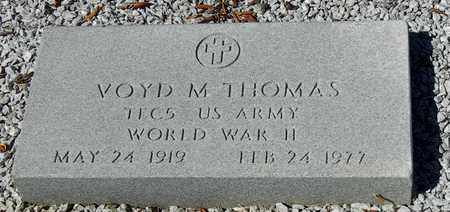 THOMAS, VOYD DENMAN  (VETERAN WWII) - Washington County, Louisiana | VOYD DENMAN  (VETERAN WWII) THOMAS - Louisiana Gravestone Photos