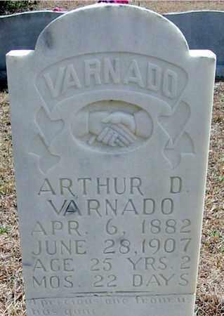 VARNADO, ARTHUR D - Washington County, Louisiana | ARTHUR D VARNADO - Louisiana Gravestone Photos