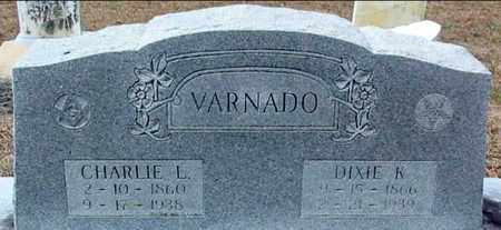 VARNADO, DIXIE K - Washington County, Louisiana | DIXIE K VARNADO - Louisiana Gravestone Photos