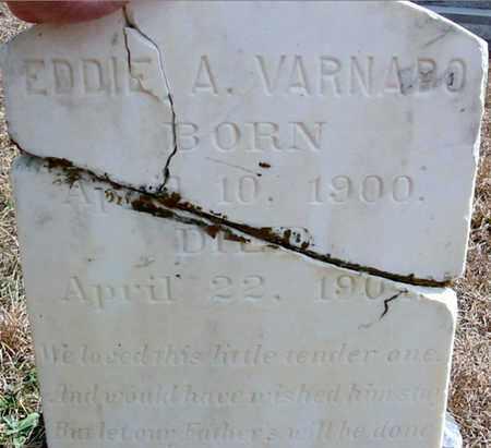 VARNADO, EDDIE A - Washington County, Louisiana | EDDIE A VARNADO - Louisiana Gravestone Photos