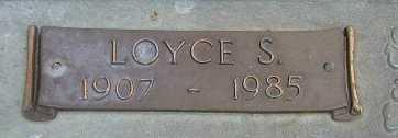 VARNADO, LOYCE S - Washington County, Louisiana | LOYCE S VARNADO - Louisiana Gravestone Photos