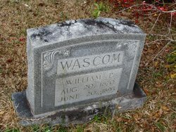 WASCOM, WILLIAM PIERSON - Washington County, Louisiana | WILLIAM PIERSON WASCOM - Louisiana Gravestone Photos