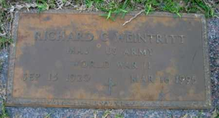 WEINTRITT, RICHARD C  (VETERAN WWII) - Washington County, Louisiana | RICHARD C  (VETERAN WWII) WEINTRITT - Louisiana Gravestone Photos