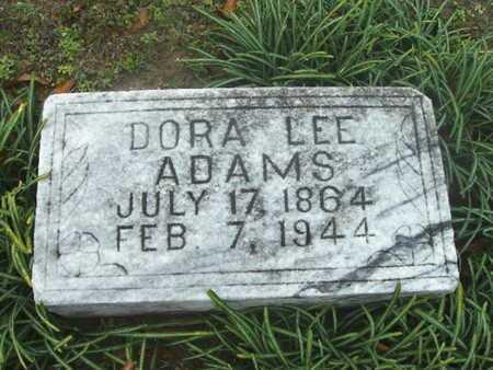 ADAMS, DORA LEE - Webster County, Louisiana | DORA LEE ADAMS - Louisiana Gravestone Photos