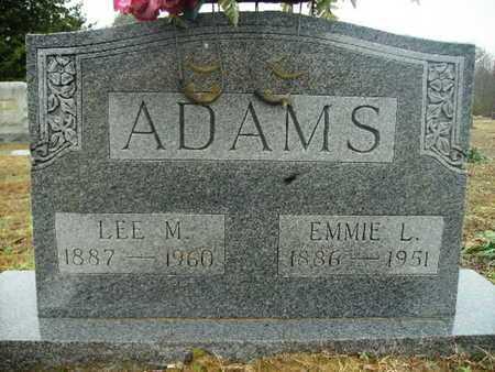 ADAMS, EMMIE L - Webster County, Louisiana   EMMIE L ADAMS - Louisiana Gravestone Photos