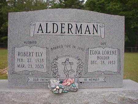ALDERMAN, ROBERT ELY - Webster County, Louisiana | ROBERT ELY ALDERMAN - Louisiana Gravestone Photos