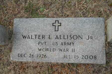 ALLISON, WALTER L, JR (VETERAN WWII) - Webster County, Louisiana | WALTER L, JR (VETERAN WWII) ALLISON - Louisiana Gravestone Photos