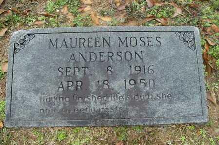 ANDERSON, MAUREEN - Webster County, Louisiana | MAUREEN ANDERSON - Louisiana Gravestone Photos