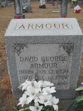 ARMOUR, DAVID GEORGE - Webster County, Louisiana | DAVID GEORGE ARMOUR - Louisiana Gravestone Photos