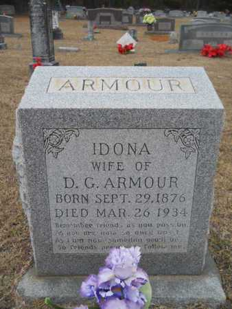 DANIEL ARMOUR, IDONA - Webster County, Louisiana | IDONA DANIEL ARMOUR - Louisiana Gravestone Photos
