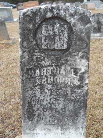 ARMOUR, MARTHA E - Webster County, Louisiana | MARTHA E ARMOUR - Louisiana Gravestone Photos