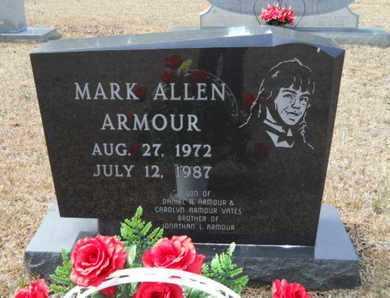 ARMOUR, MARK ALLEN - Webster County, Louisiana | MARK ALLEN ARMOUR - Louisiana Gravestone Photos