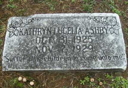 ASHBY, KATHRYN LUCELIA - Webster County, Louisiana | KATHRYN LUCELIA ASHBY - Louisiana Gravestone Photos