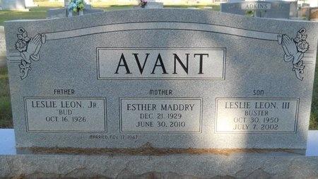 AVANT, ESTHER - Webster County, Louisiana | ESTHER AVANT - Louisiana Gravestone Photos