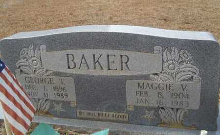BAKER, MAGGIE VASHTI - Webster County, Louisiana | MAGGIE VASHTI BAKER - Louisiana Gravestone Photos