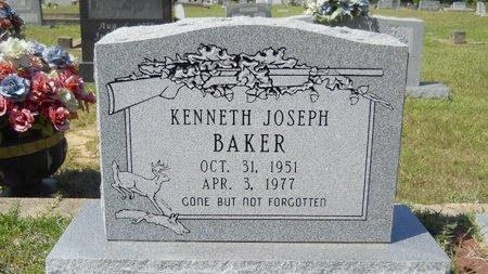 BAKER, KENNETH JOSEPH - Webster County, Louisiana | KENNETH JOSEPH BAKER - Louisiana Gravestone Photos