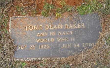BAKER, TOBIE DEAN (VETERAN WWII) - Webster County, Louisiana   TOBIE DEAN (VETERAN WWII) BAKER - Louisiana Gravestone Photos