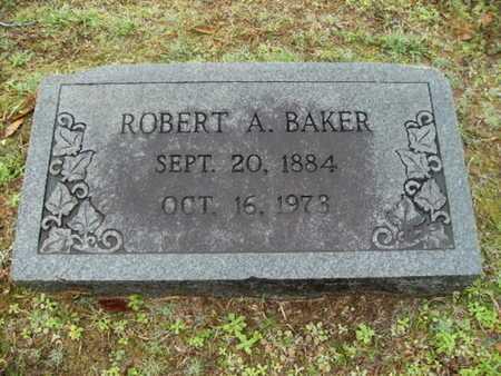 BAKER, ROBERT A - Webster County, Louisiana | ROBERT A BAKER - Louisiana Gravestone Photos