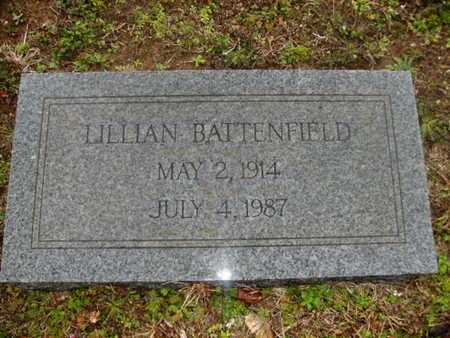 BATTENFIELD, LILLIAN - Webster County, Louisiana | LILLIAN BATTENFIELD - Louisiana Gravestone Photos