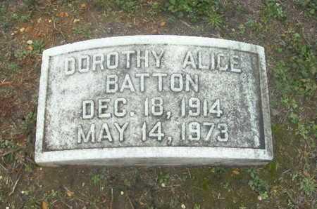 BATTON, DOROTHY ALICE - Webster County, Louisiana | DOROTHY ALICE BATTON - Louisiana Gravestone Photos