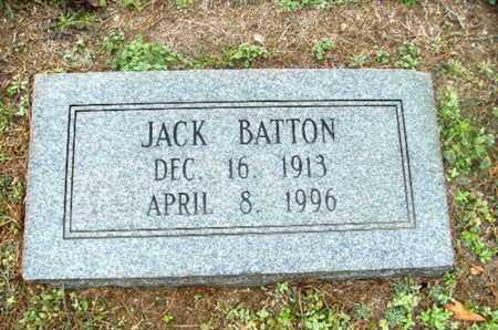 BATTON, JACK - Webster County, Louisiana   JACK BATTON - Louisiana Gravestone Photos