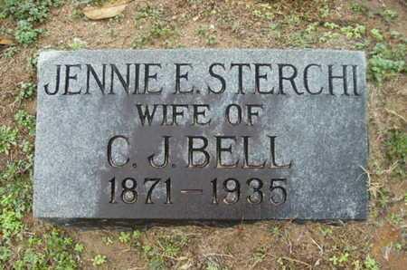 STERCHI BELL, JENNIE E - Webster County, Louisiana   JENNIE E STERCHI BELL - Louisiana Gravestone Photos