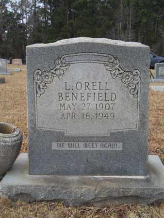 BENEFIELD, L ORELL - Webster County, Louisiana | L ORELL BENEFIELD - Louisiana Gravestone Photos