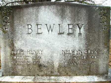 BONNER BEWLEY, NELWYN - Webster County, Louisiana | NELWYN BONNER BEWLEY - Louisiana Gravestone Photos