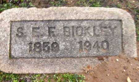 BICKLEY, S E F - Webster County, Louisiana | S E F BICKLEY - Louisiana Gravestone Photos