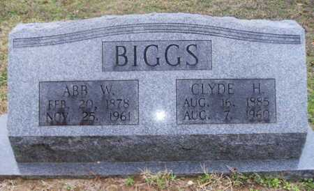 BIGGS, ABB W - Webster County, Louisiana | ABB W BIGGS - Louisiana Gravestone Photos